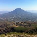 マッサン北海道編 馬車のシーン・ロケ地は真狩村からの羊蹄山