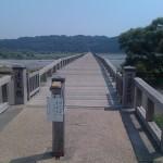 【とと姉ちゃん】「木造橋」ロケ地は蓬莱橋(静岡県島田市)